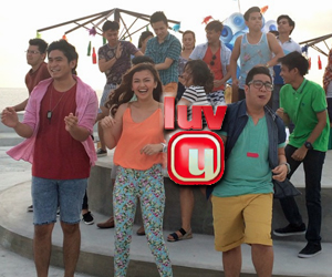 #ShinePilipinas: Kulitan ng Luv U barkada sa ABS-CBN Summer SID 2015 shoot