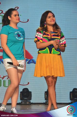PHOTOS: Luv U cast, tinilian sa Bida Kapamilya event sa Antipolo