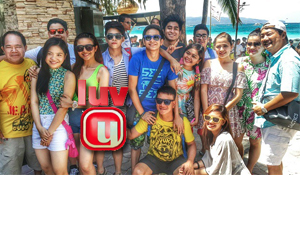 PHOTOS: Luv U goes to Boracay!
