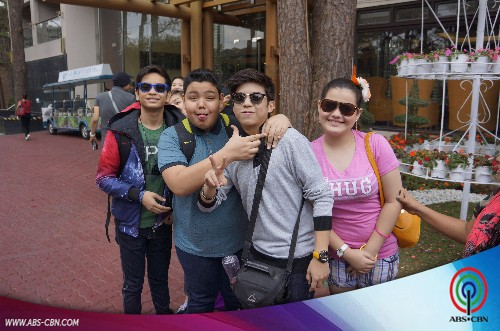 Baguio Adventure ng Luv U barkada!