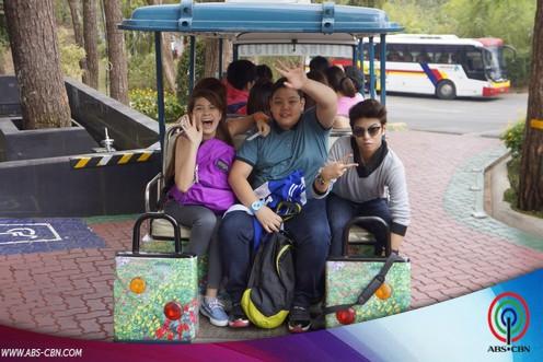 Luv U barkada goes to Baguio
